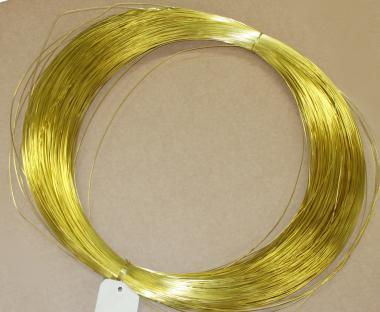 Filo di ottone ricotto (1kg) Ø 4 mm