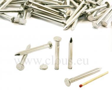 Chiodo a testa piatta in alluminio