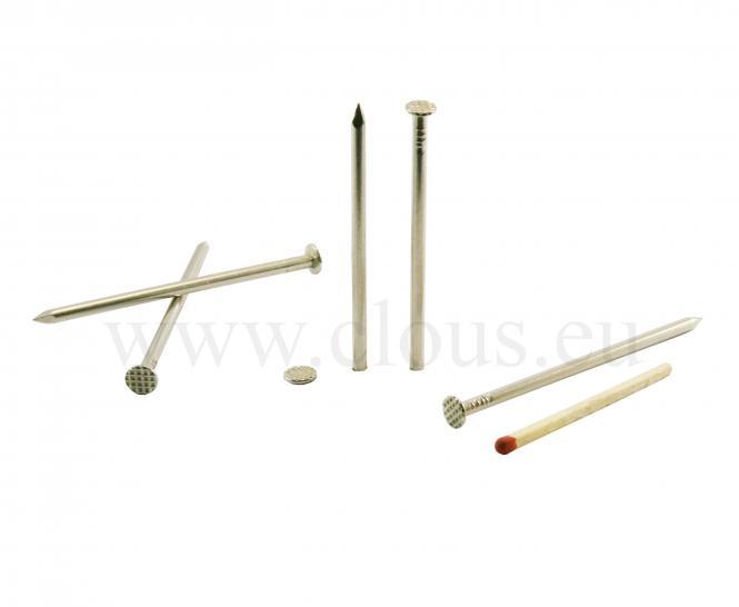 Chiodo a testa piatta in acciaio Inox Ø 2.4 mm