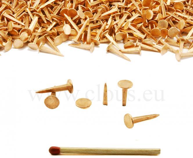 Semenza in rame per la tappezzeria L : 18 mm