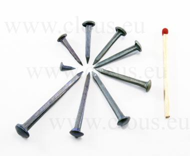 Chiodo a testa bombata in acciaio forgiato bluito L : 16 mm - Ø 5.6 mm (1kg)