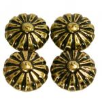 Bullette a testa Margherita in bronzo rinascimento (1000 chiodi) Ø 10.5 mm (1000p.)